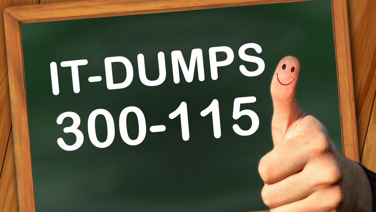 It-Dumps Cisco 300-115 SWITCH Exam Dumps