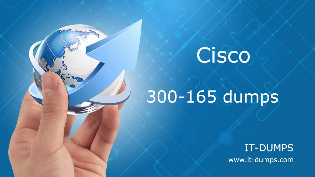 Cisco 300-165 DCII Exam Dumps